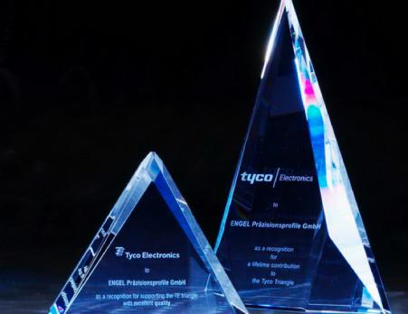 Auszeichnung von Tycho Electronics als europaweit bester Lieferant