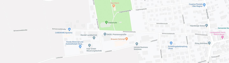 Google Maps Standort der Engel GmbH